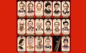 Картинка Edward Norton, Ralph Fiennes, Saoirse Ronan, Bill Murray, Léa Seydoux, Отель Гранд Будапешт, The Grand ...
