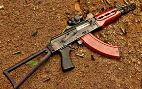 Картинка оружие, автомат, гильзы, Застава, М92