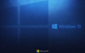 Картинка компьютер, обои, логотип, windows, microsoft, hi-tech, виндовс, операционная система, майкрософт