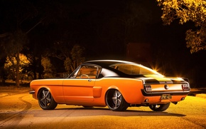 Обои ford, mustang, fastback, 1965