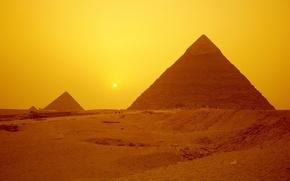 Обои Египет, Пирамиды, Гиза