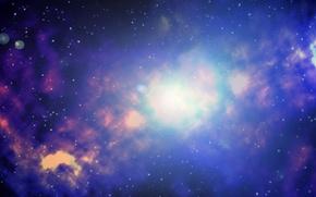 Картинка космос, туманность, space, nebula