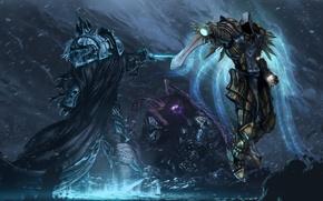 Картинка Heroes of the Storm, sarah kerrigan, Jim Raynor, warcraft, Tyrael, diablo, arthas, starcraft, Archangel of ...
