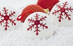 Картинка шары, игрушки, Новый Год, Рождество, украшение, Christmas, New Year, Xmas, Merry, 2016