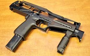 Картинка стол, фон, бой, патрон, силы, магазин, 9мм, Российский, для, разработка, калибр, 200, живой, или, пистолет-пулемёт, …