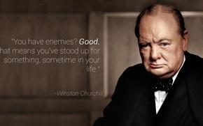 Картинка фон, обои, портрет, великобритания, премьер-министр, portrait, политик, Цитата, Winston Leonard Spencer-Churchill, Уинстон Черчиль, UK Prime …
