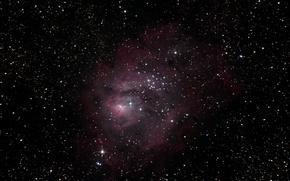 Обои Лагуна, Туманность, межзвёздное облако, гигантское, в созвездии Стрельца