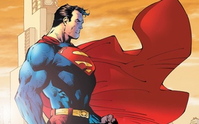 Картинка fantasy, Marvel, comics, Superman, artwork, superheroes, costume, DC Comics, Clark Kent, Kal-El, cape