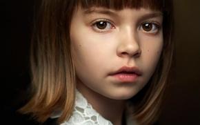 Картинка девочка, прелесть, кареглазая, Alexander Vinogradov, Great portrait