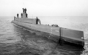 Обои ВОВ, фотография, война, подводная лодка, чёрно-белое