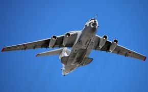 Картинка Россия, самолёт, ввс, оплот, A-50, дальнего радиолокационного обнаружения и управления, Mainstay