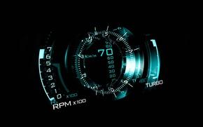 Обои скорость, приборы, тахометр, Спидометр