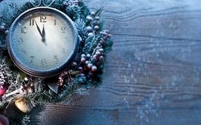 Картинка Рождество, Новый Год, frozen, clock, new year
