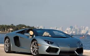 Картинка supercar, roadster, aventador, lp700-4, lamborgini