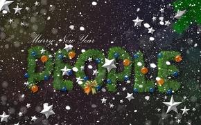 Картинка елка, новый год, веселого нового года, marry new year