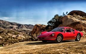Картинка 1969, Ferrari, феррари, дино, Dino, 246 GT