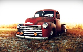 Обои chevrolet, trucks, lowriders, custom, classic, cars, 1949