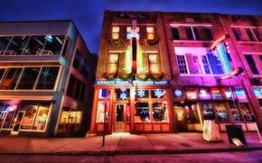 Картинка city, город, USA, Tennessee, Nashville