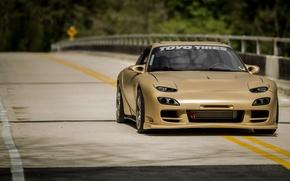 Картинка Mazda, Drift, RX-7, JDM, Stance, Low, FD3S