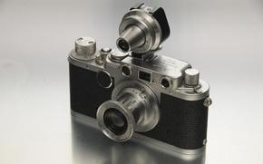 Картинка макро, фон, камера, Leica IIf