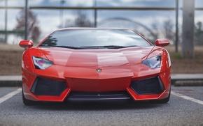 Картинка Lamborghini, парковка, LP700-4, Aventador