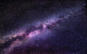 Картинка космос, звезды, Млечный Путь