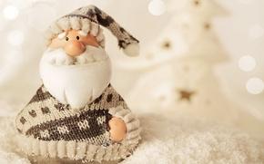 Картинка зима, снег, Новый Год, Christmas, winter, snow, Merry