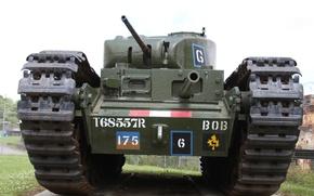 Картинка войны, танк, тяжёлый, периода, пехотный, мировой, Второй, «Черчилль», Churchill I