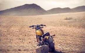 Картинка камни, фон, земля, холмы, widescreen, обои, настроения, камень, колесо, мотоцикл, wallpaper, байк, bike, широкоформатные, background, …