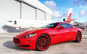 Картинка Maserati, Granturismo, Vossen, VFS2, Custom Painted