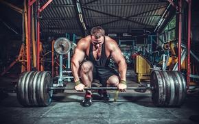 Картинка pose, gym, weightlifting