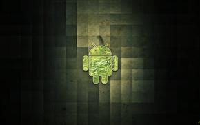 Картинка green, android, smartphone