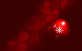Картинка коллаж, узор, новый год, рождество, шарик, снежинка, открытка