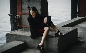 Картинка фигура, платье, ножки, Inna Mosina
