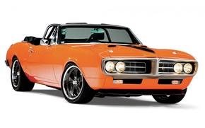 Картинка Orange, Pontiac, Firebird