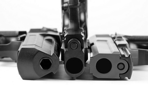Картинка metal, white, automatic, black, the, and, death, trunk, Pistols, arms, blueing, rifling, murder, reliability, barrel, ...