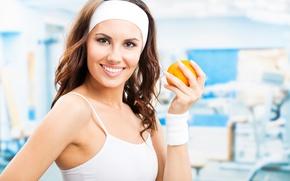 Картинка orange, exercise, health, healthy food