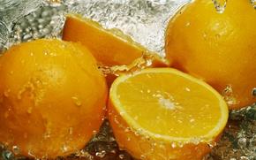 Обои вода, капли, макро, брызги, лимон, еда, фрукт, полезный, кислый