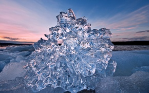 Картинка холод, лед, море, вода, прозрачный, льдина