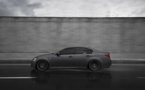 Картинка Lexus, Sport, GS F, Matte Gunmetal