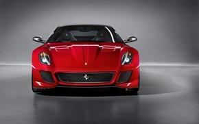 Обои Машина, Ferrari, 599, Суперкар, GTO, 2011г.