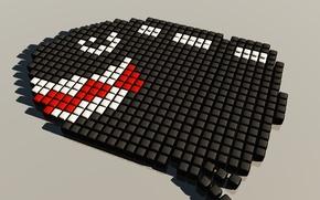 Картинка кубики, марио, ядро