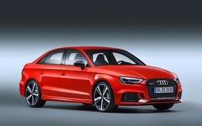 Картинка Audi, Ауди, спорткар, седан, RS 3