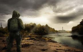 Картинка Stalker, припять, зона, украина, фан арт