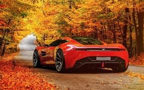 Картинка дорога, авто, концепт-кар, живописные, Aston Martin DBC