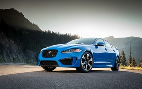Картинка Jaguar, Blue, XFR-S