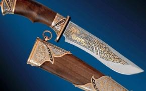 Обои оружие, нож, холодное, ножны