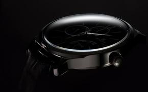 Картинка макро, часы, ENOX