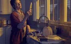 Обои Ходячие мертвецы, Carol, Melissa McBride, The Walking Dead