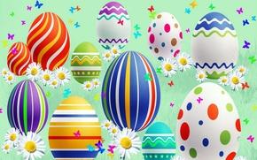 Картинка праздник, весна, пасха, яица